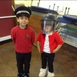 Police Dogs visit the school – Jet and Ben