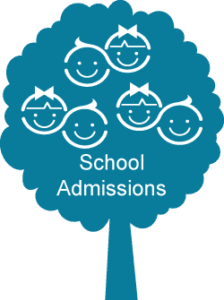School admissions icon